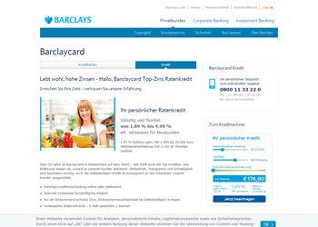 Barclays Kredit