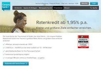 Consorsbank Kredit