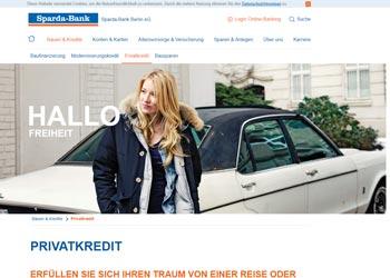 Sparda Bank Kredit